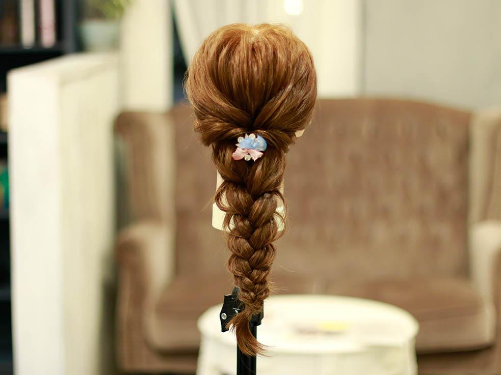 ロング女子必見!アップ&ダウン欲張り2スタイルヘアアレンジ♪4