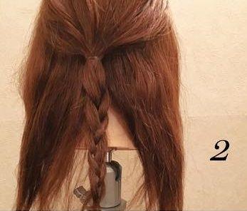 品良く可愛い♪まとめ髪アレンジ2