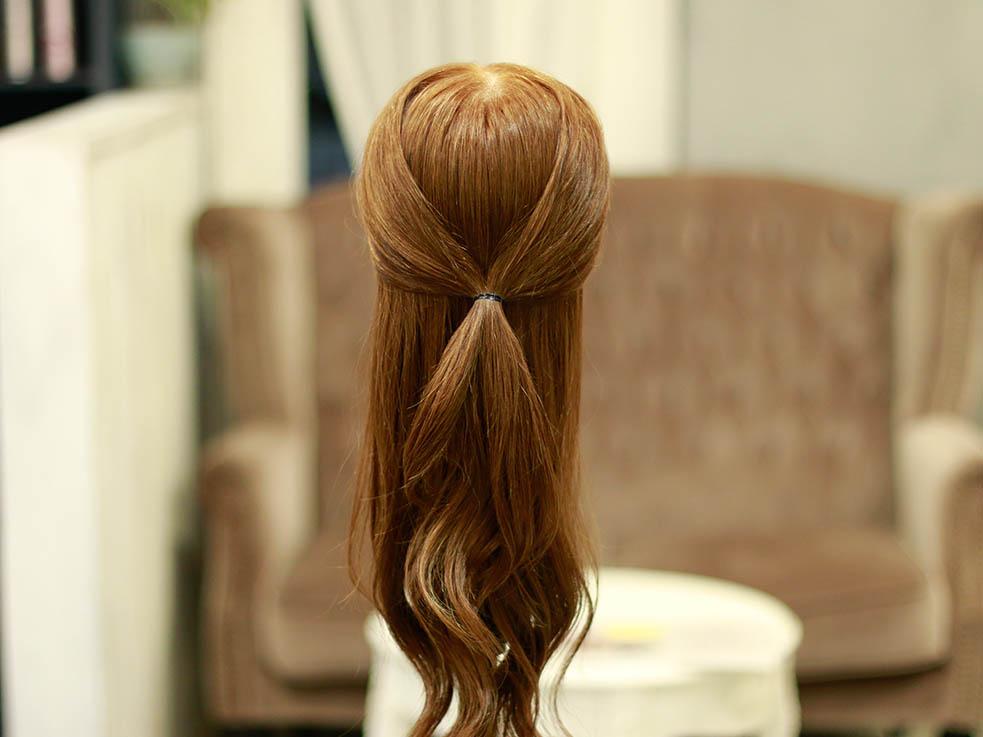 ロング女子必見!アップ&ダウン欲張り2スタイルヘアアレンジ♪2