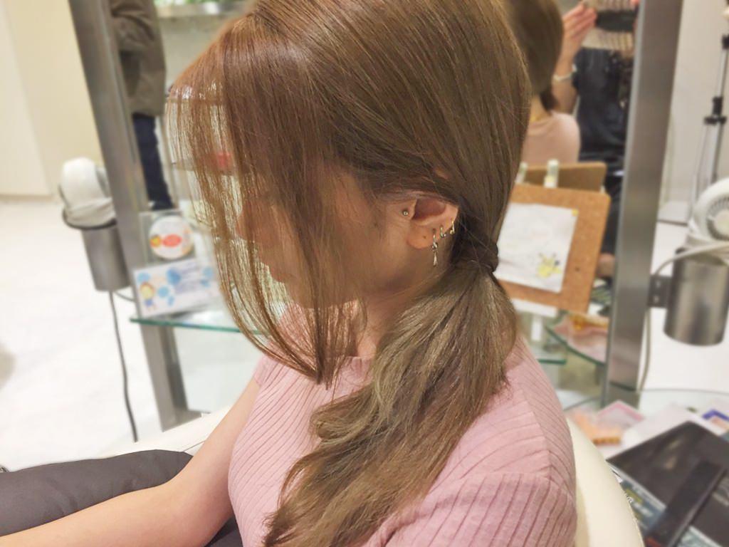 ズボラ女子必見!ササッとおしゃれなサイドヘアアレンジ☆2