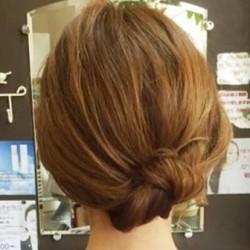 綺麗にまとまる☆シンプルなまとめ髪top