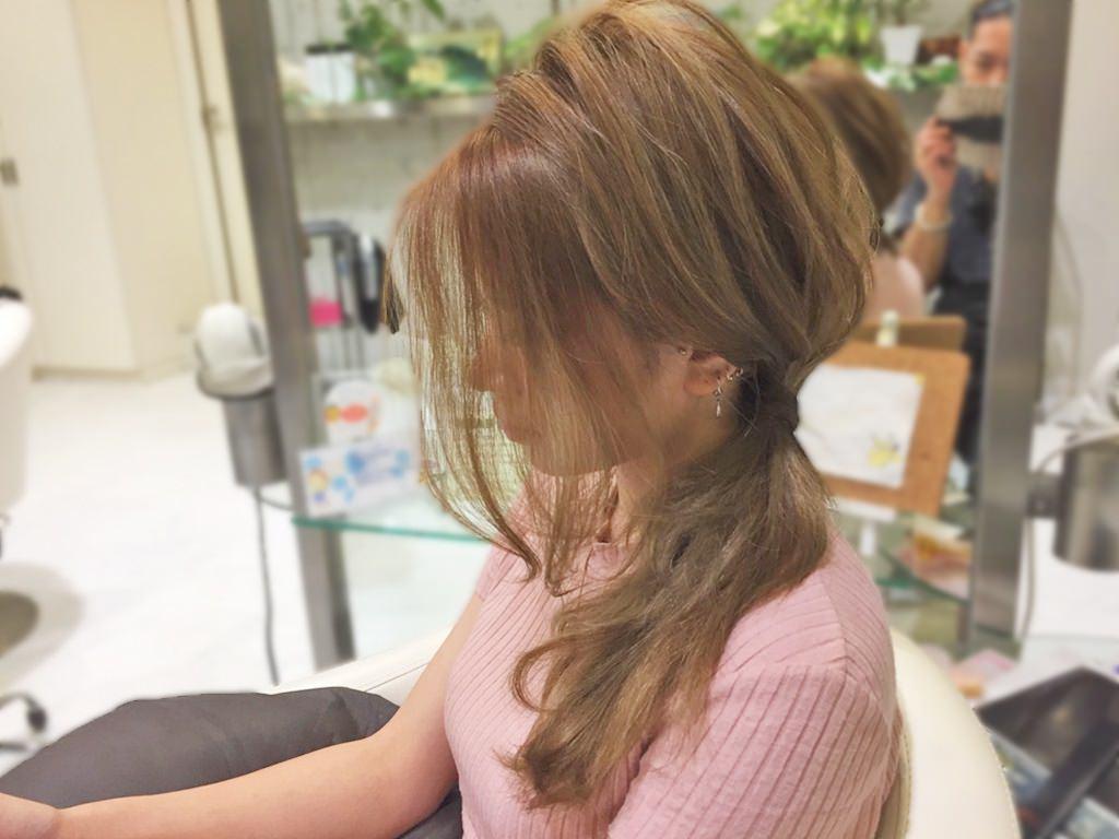 ズボラ女子必見!ササッとおしゃれなサイドヘアアレンジ☆3