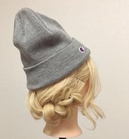 ニット帽にぴったり☆三つ編みで作るこなれまとめ髪4