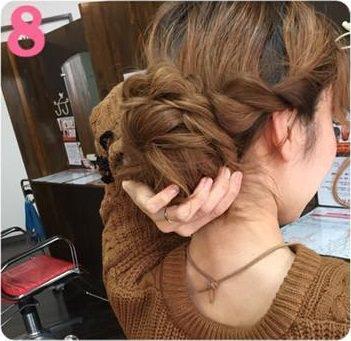 簡単かわいい♡ねじねじお団子8