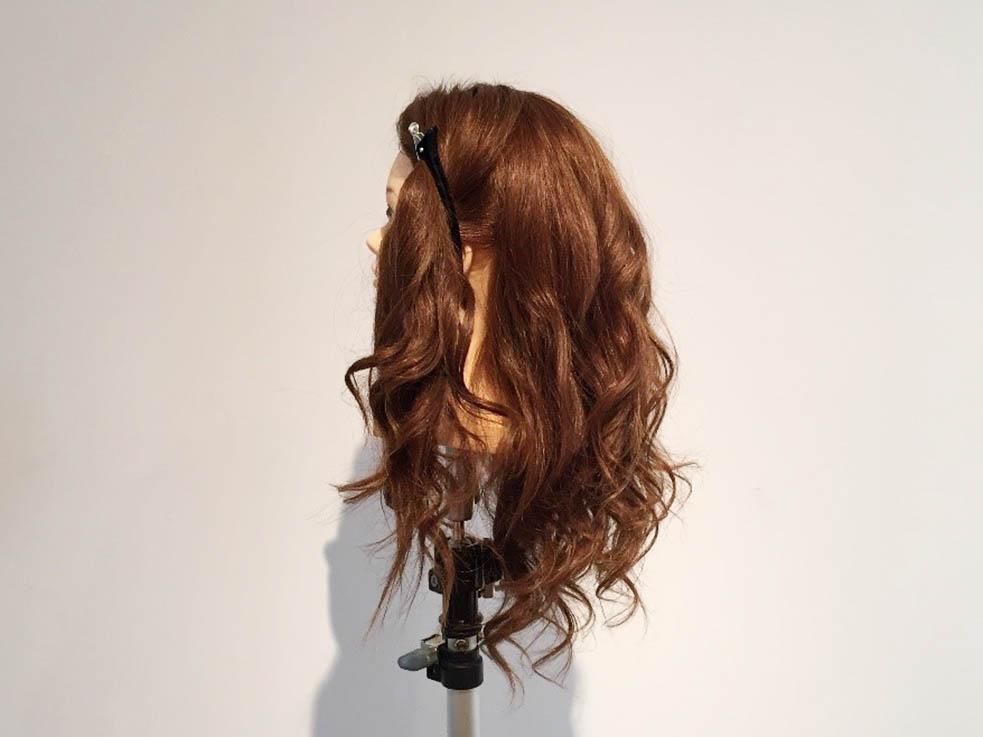 後れ毛が可愛い☆高めお団子1