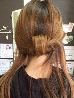 キャップにぴったり☆綺麗なまとめ髪アレンジ6