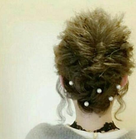 綺麗め♡簡単まとめ髪 TOP
