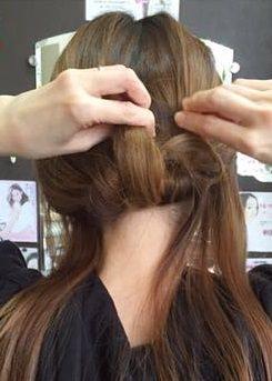 キャップにぴったり☆綺麗なまとめ髪アレンジ5