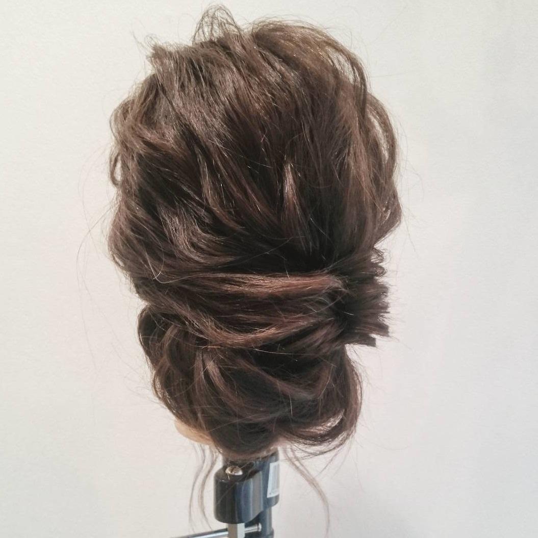 華やかさ抜群☆パーティにおすすめのまとめ髪top
