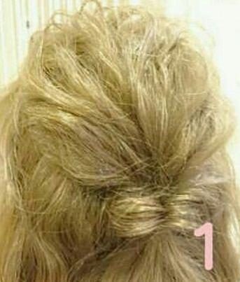 綺麗め♡簡単まとめ髪 ①