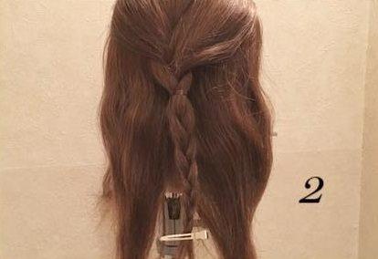 質感が可愛い♡上品なまとめ髪②