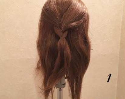 質感が可愛い♡上品なまとめ髪①