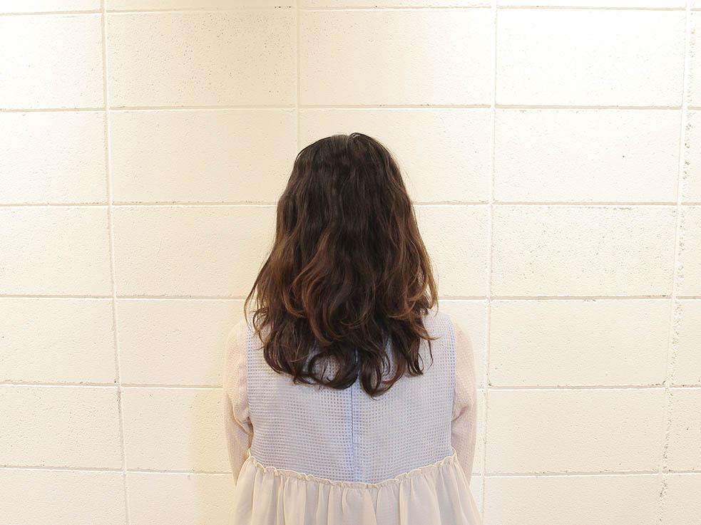 二つ分け編み込みヘアアレンジ☆ガーリー系1