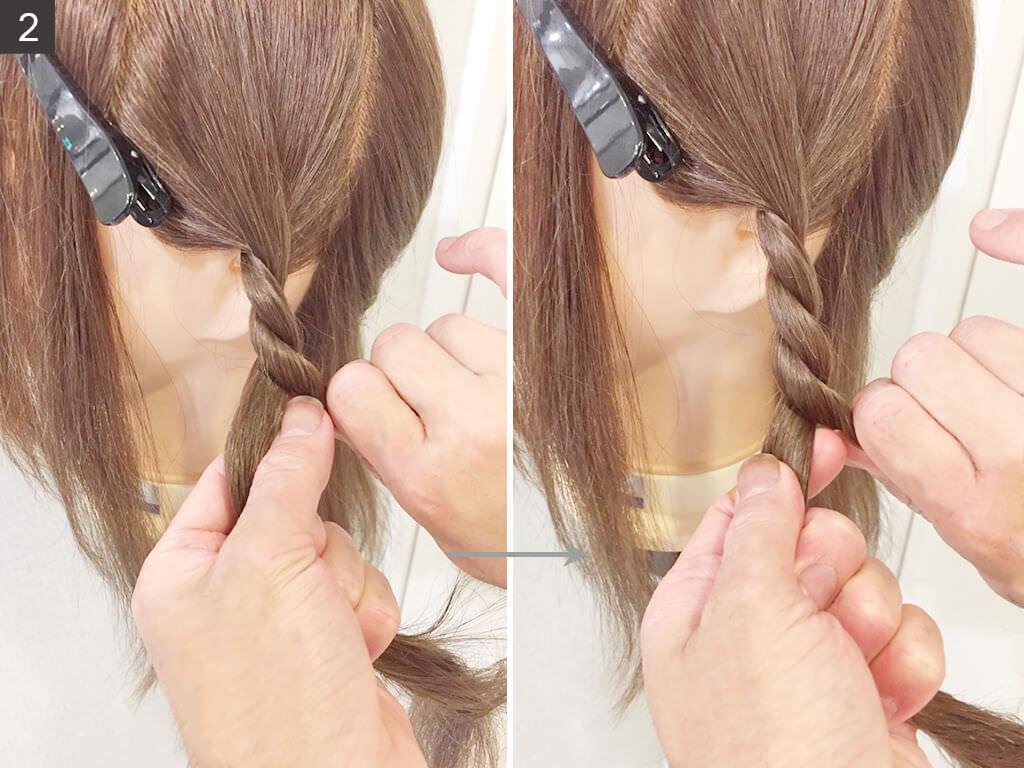 簡単便利☆ロープ編みの方法2