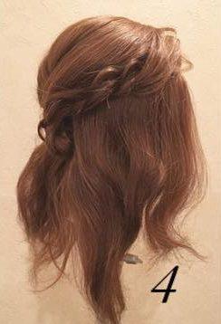質感が可愛い♡上品なまとめ髪④