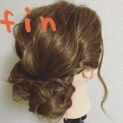 ふんわりまとまる♪簡単まとめ髪アレンジtop