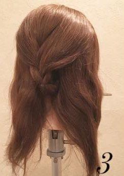 質感が可愛い♡上品なまとめ髪③
