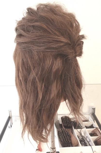 くるりんぱでゴージャスなまとめ髪♪1