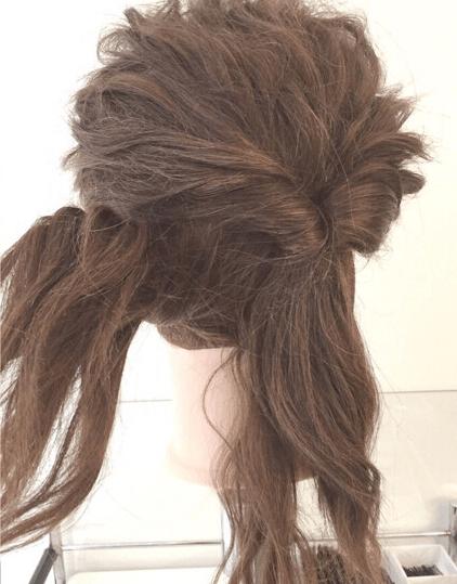 くるりんぱでゴージャスなまとめ髪♪2