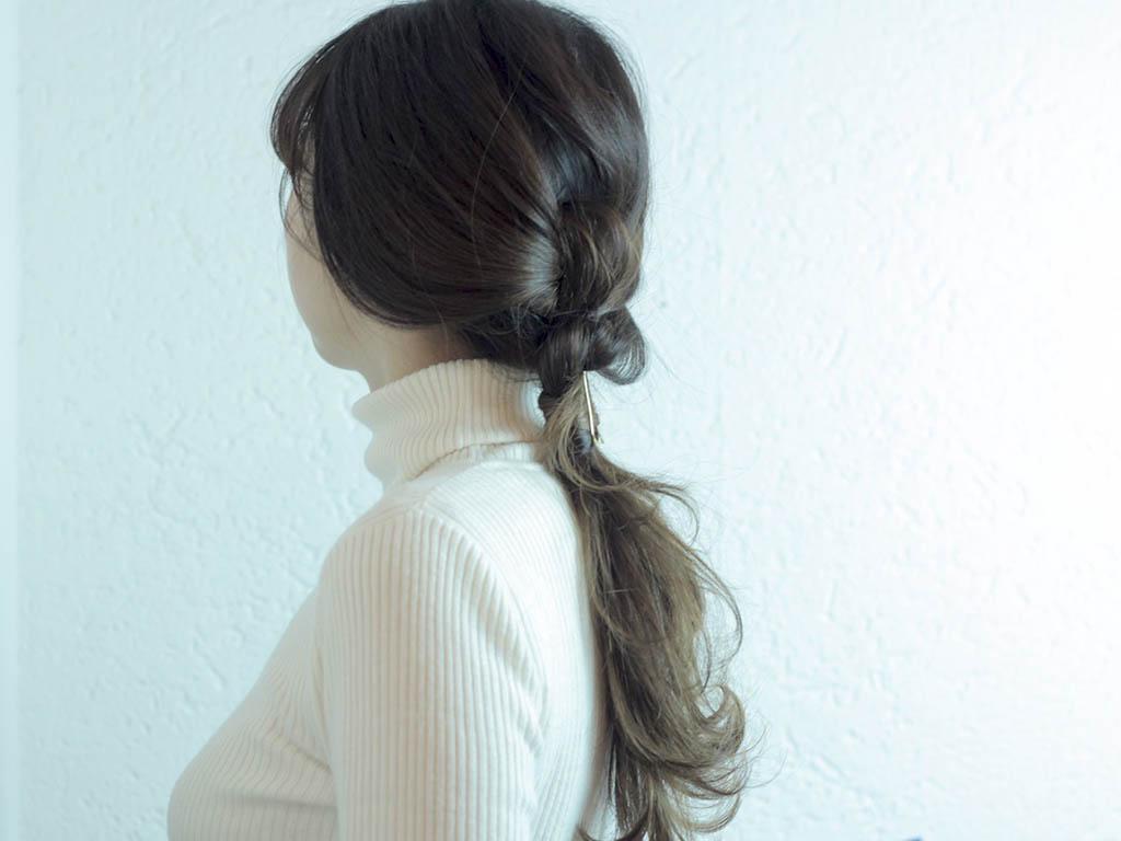 さり気ない個性が可愛い!ノットヘアーの作り方top