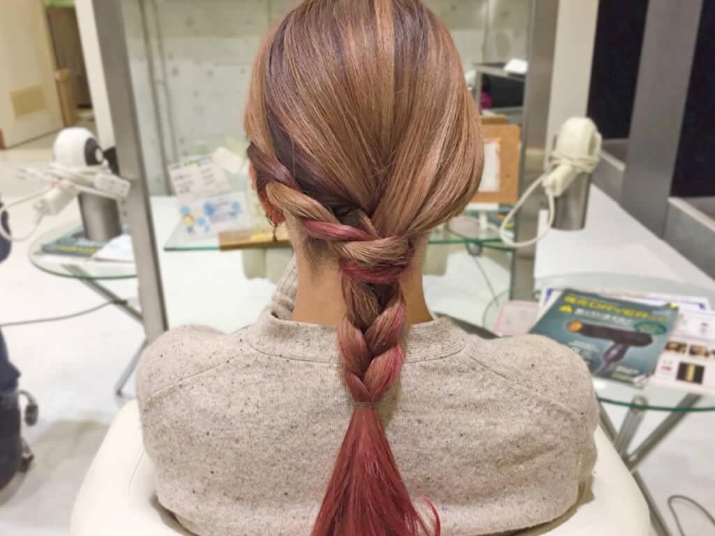 特別な日に,,,,大人可愛い編みおろしヘアアレンジ5
