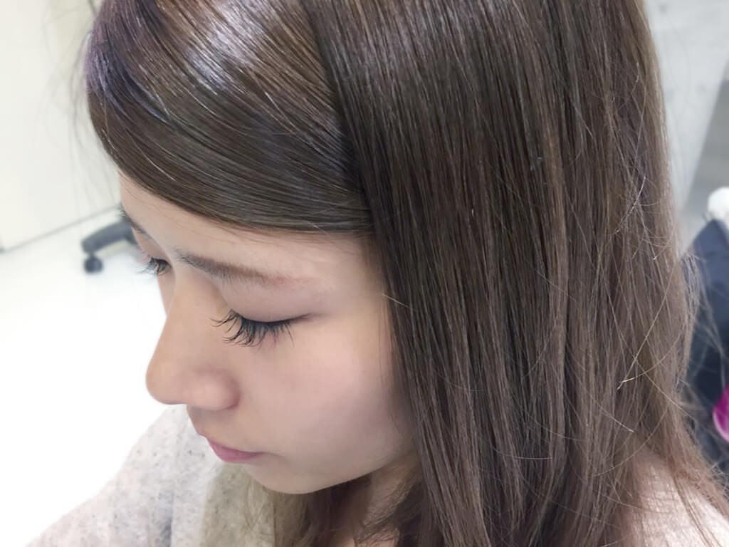 短い前髪にひと工夫!シンプルアレンジでイメチェン☆5