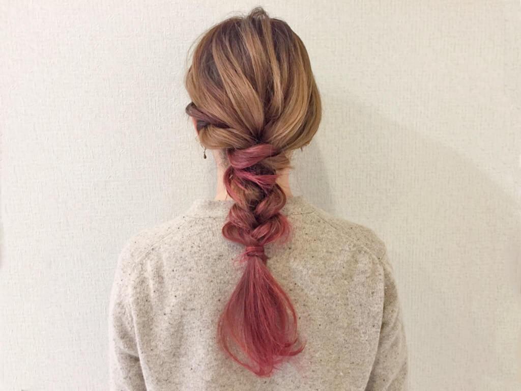 特別な日に,,,,大人可愛い編みおろしヘアアレンジtop