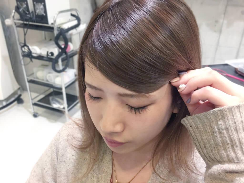 短い前髪にひと工夫!シンプルアレンジでイメチェン☆3
