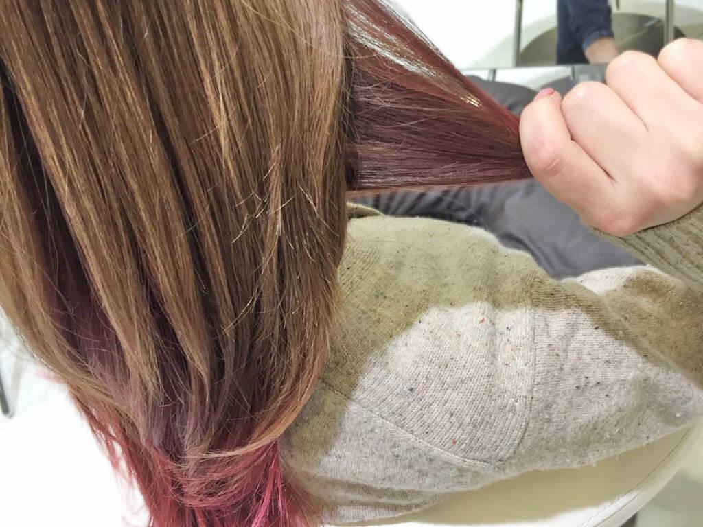 大人カジュアルで差を付ける!春の編み込みヘアアレンジ1