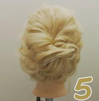 【編み込みナシ】上品なお呼ばれヘア ♪5