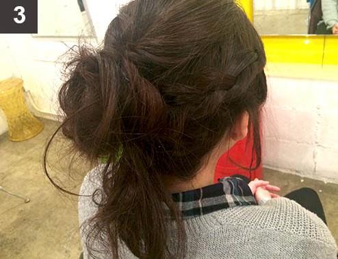 【ボブヘアさんへ】伸ばし中のボブでも出来るまとめ髪♪3