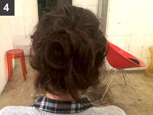 【ボブヘアさんへ】伸ばし中のボブでも出来るまとめ髪♪4