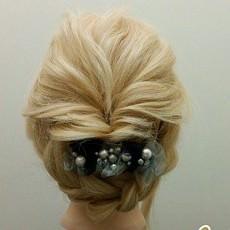 フレンチガール風まとめ髪☆TOP