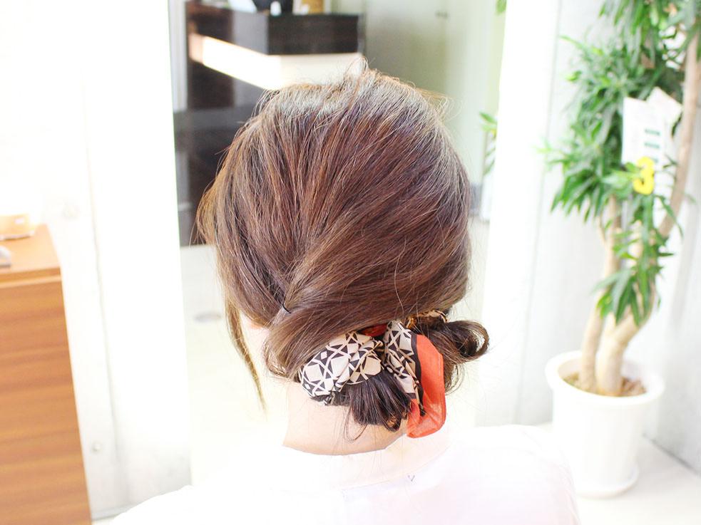 三つ編みを丸めるだけ⁉こなれのまとめ髪の作り方top