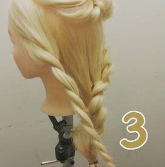 【編み込みナシ】上品なお呼ばれヘア ♪3