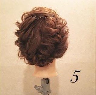 髪を伸ばしたくなる!ガーリー編み込みアレンジ♡5