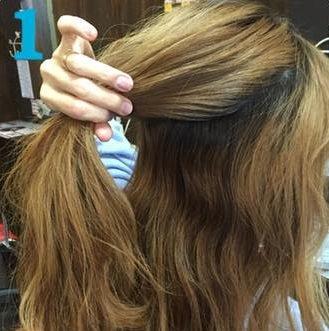 これぞ垢抜けヘア!三つ編みでつくるまとめ髪☆1