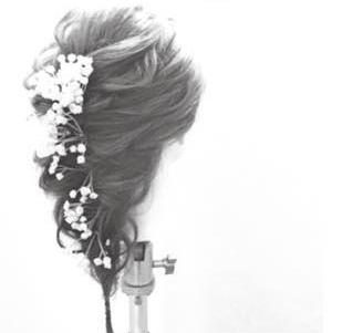 造花が可愛い♪シンプルくるりんぱside2