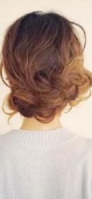 後ろ髪美人!三つ編みでつくるまとめ髪☆TOP