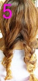 後ろ髪美人!三つ編みでつくるまとめ髪☆5