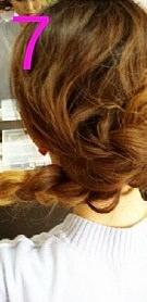 後ろ髪美人!三つ編みでつくるまとめ髪☆7