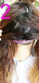 後ろ髪美人!三つ編みでつくるまとめ髪☆2