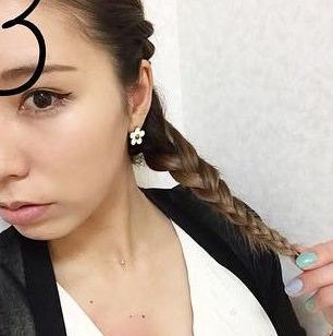 前髪の長い方向け!オシャレロープ編み3