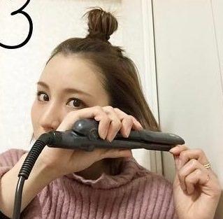 超簡単!サクっとできるアクティブお団子ヘア☆3