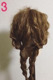 可愛いを極めたふわふわスイートヘアアレンジ♡3