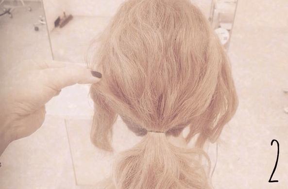 結婚式にピッタリ♪簡単ねじねじまとめ髪☆2