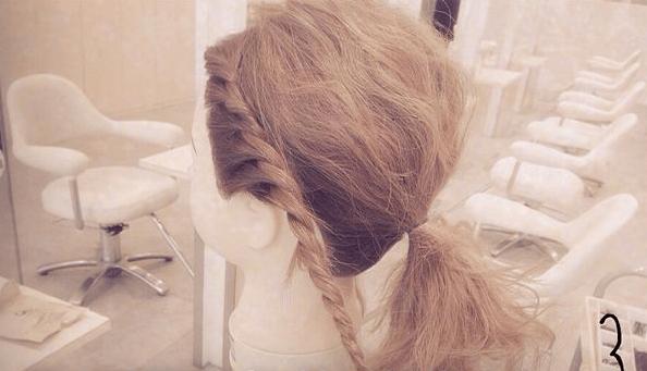 結婚式にピッタリ♪簡単ねじねじまとめ髪☆3