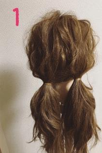 可愛いを極めたふわふわスイートヘアアレンジ♡1