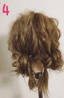 可愛いを極めたふわふわスイートヘアアレンジ♡4