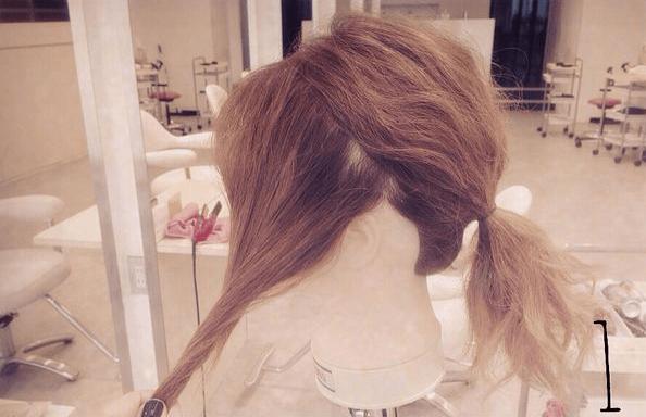 結婚式にピッタリ♪簡単ねじねじまとめ髪☆1